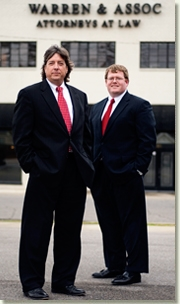 Attorneys John Warren and Chip Nation
